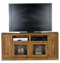 Didier 4 Doors TV Stand Color: Light Oak