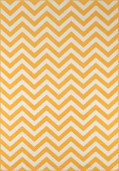 Halliday Traditional Yellow Indoor/Outdoor Area Rug Rug Size: Rectangle 8'6