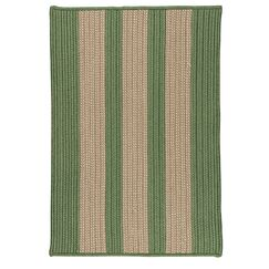 Seal Harbor Olive Indoor/Outdoor Area Rug Rug Size: Square 6'