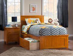 Graham Storage Platform Bed Color: White, Size: Full