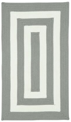 Mitscher Hand-Braided Beige Indoor/Outdoor Area Rug Rug Size: Cross Sewn Square 9'6