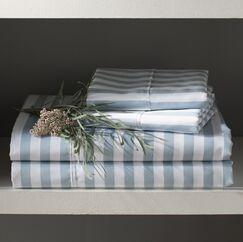 Ariel 600 Thread Count Cotton Blend Sheet Set Color: Light Blue, Size: Twin XL