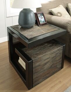 Transitions End Table