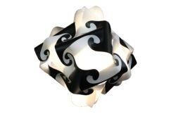 32 Element Pendant Shade Color: Black, Size: Large