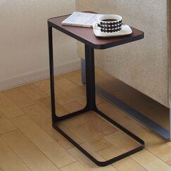 Frame End Table Color: Black