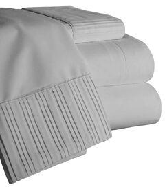 Chamberlain London Microfiber Sheet Set Size: King, Color: Gray