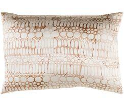 Natural Affinity Silk Lumbar Pillow Color: Brown / Orange