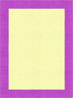 Godsey Hand-Tufted Wool Yellow Area Rug Rug Size: Rectangle 6' x 9'