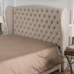 Eno Upholstered Headboard Size: King/California King, Upholstery: Silver Gray