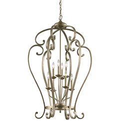 Greenwald 8-Light Lantern Pendant Size: 44.75