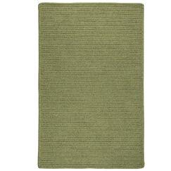 Kaimakli Hand-Woven Green Area Rug Rug Size: 2' x 9'