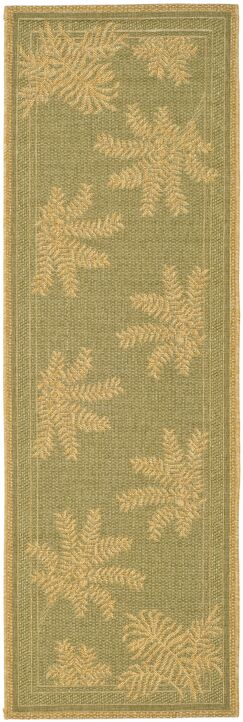 Wickford Green Outdoor Rug Rug Size: Rectangle 2'7