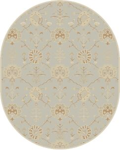 Kempinski Hand-Tufted Gray Area Rug Rug Size: Square 9'9
