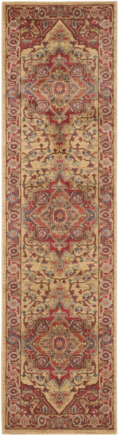 Clarion Red Area Rug Rug Size: Runner 2'2