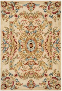 Chaplain Floral Area Rug Rug Size: Rectangle 4' x 6'