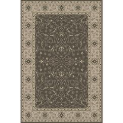 Fulham Hand-Tufted Taupe Area Rug Rug Size: Rectangle 9' x 13'