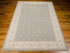 Carmorn Gray Area Rug Rug Size: Rectangle 9'6