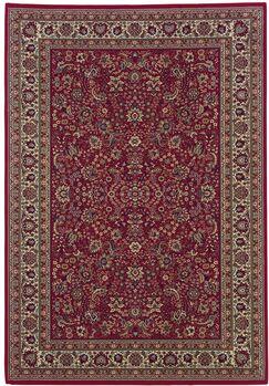Shelburne Red/Ivory Area Rug Rug Size: Rectangle 10' x 12'7