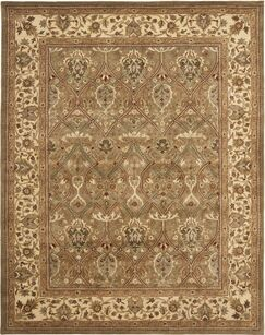 Empress Tufted Wool Area Rug Rug Size: Rectangle 4' x 6'
