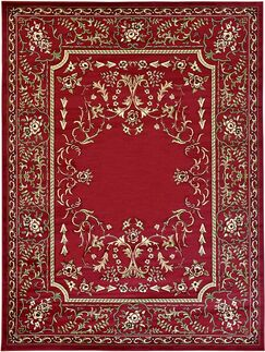 Littoral Red Area Rug Rug Size: Rectangle 8' x 10'