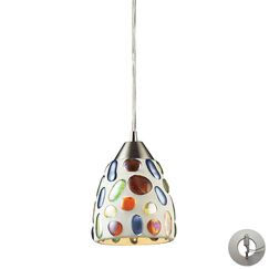 Adalheida 1-Light  LED Cone Pendant