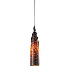 Apolline Light Cone Pendant Glass Type: Espresso, Size: 3