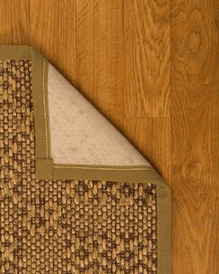 Camile Hand Woven Brown Area Rug Rug Size: Rectangle 3' X 5'