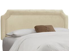 Chittening Upholstered Panel Headboard Upholstery: Regal Navy, Size: California King