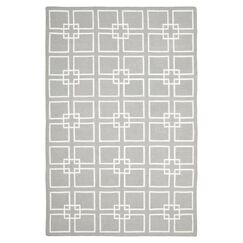 Dance Flat Weave Cement Gray Area Rug Rug Size: Rectangle 9' x 12'