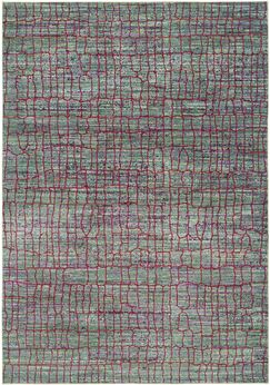 Manchester Green/Red Area Rug Rug Size: Rectangle 5' x 8'