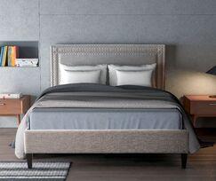 Rosita Upholstered Platform Bed Size: King