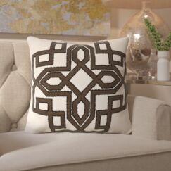 Hudgens Linen Throw Pillow Size: 20