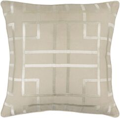 Patchoque Linen Throw Pillow Size: 18