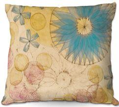Paper Mosaic Studio Circle Inspiration Throw Pillow Size: 22