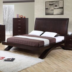 Linkwood Sleigh Bed Size: Queen