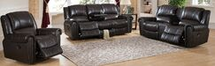 Charlotte Reclining 3 Piece Leather Living Room Set
