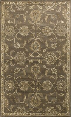Banstead Hand-Tufted Wool Coffee Area Rug Rug Size: Rectangle 9' x 13'