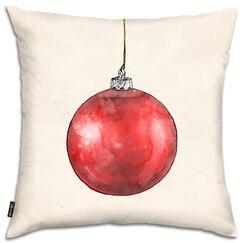 Red Season Dream Throw Pillow