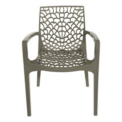 Arm Chair Finish: Pearl Gray