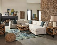 Great Falls Modular Sectional with Ottoman