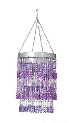 Jena 1-Light Novelty Pendant Shade Color: Purple