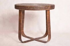 Davis Rattan End Table