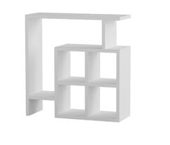 Yoselin Modern End Table Color: White