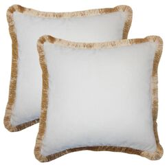 Sothy Cotton Throw Pillow