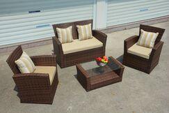 Vineland 7 Piece Sofa Set  with Cushions
