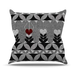 Unique by Nick Atkinson Outdoor Throw Pillow
