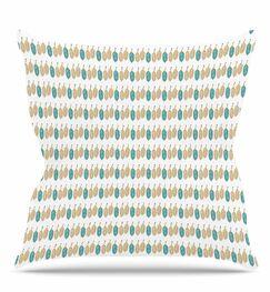 Colour Dream Throw Pillow Size: 26