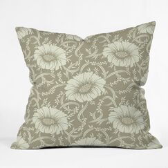 Floral Dream Polyester Throw Pillow Size: 20