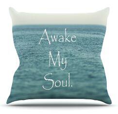 Awake My Soul by Debbra Obertanec Outdoor Throw Pillow