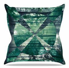 Foliage by Matt Eklund Throw Pillow Size: 18